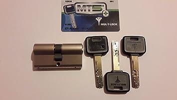 mul-t-lock MT5 + Euro de alta seguridad cerradura de cilindro 3 llaves