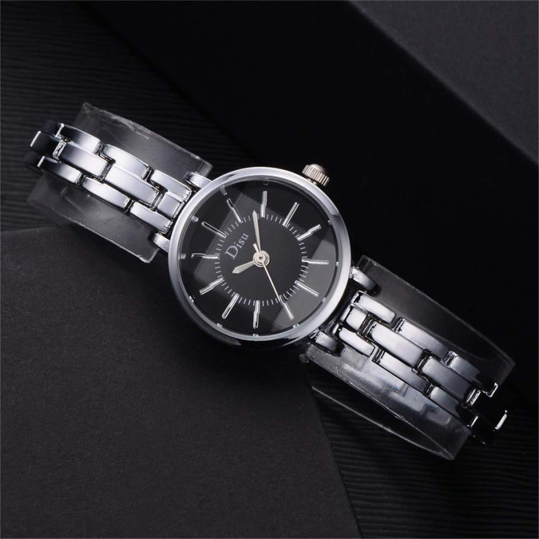 Amazon.com : naivety Watch Women Luxury Rose Gold Plated Womens Elegant Rhinestone Bracelet Quartz Watch Fashion Reloj Mujer Pulsera(D, ...