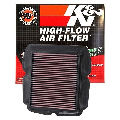 K&N Engine Air Filter: High Performance, Premium, Powersport Air Filter: 2003-2009 SUZUKI (SV650, SV650S, SV650SF, SV1000S, SV650A ABS, SV1000) SU-6503: Automotive