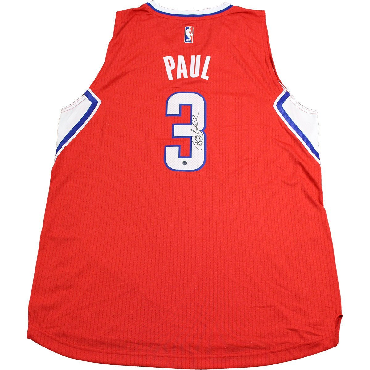 e52f89fcca4 Chris Paul Signed Red LA Clippers Swingman Jersey (Signed in Black) at  Amazon s Sports Collectibles Store