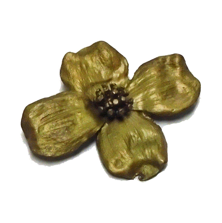 ''Dogwood'' Pin/Brooch by Michael Michaud for Silver Seasons