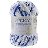 Bernat Pipsqueak Big Ball Yarn, 8.8 Ounce, Blue Jean Swirl, Single Ball