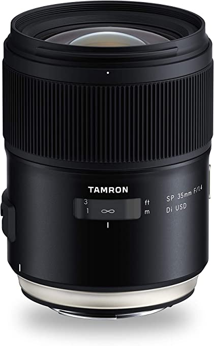 Tamron 35mm F 1 4 Di Usd Objektiv Für Canon Ef Kamera