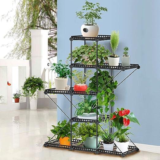 Estante de hierro forjado para colgar orquídeas en interiores ...