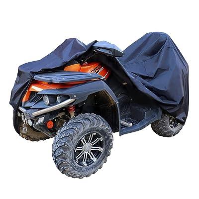 "Basics Weatherproof Standard ATV Cover - 150D Oxford, ATVs up to 102"": Automotive"