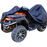 Amazon Basics Weatherproof Standard ATV Cover - 150D Oxford, ATVs up to 102""