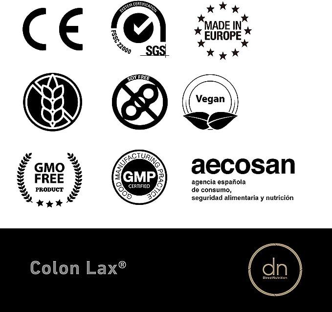 COLON LAX 60 CAPSULAS | DN DIRECT NUTRITION, LAXANTE ...
