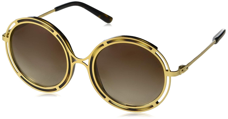 4e7e129c588 Amazon.com  Ralph by Ralph Lauren Women s 0rl7060 Round Sunglasses ...
