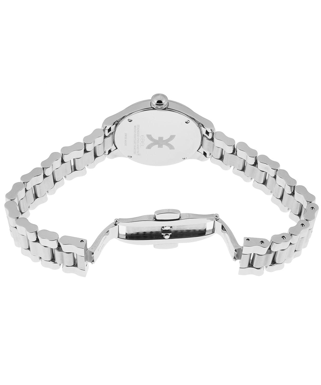 Ebel Onde Damen-Armbanduhr 30mm Armband Edelstahl + GehÄuse Schweizer Quarz Zifferblatt Weiß 1216173