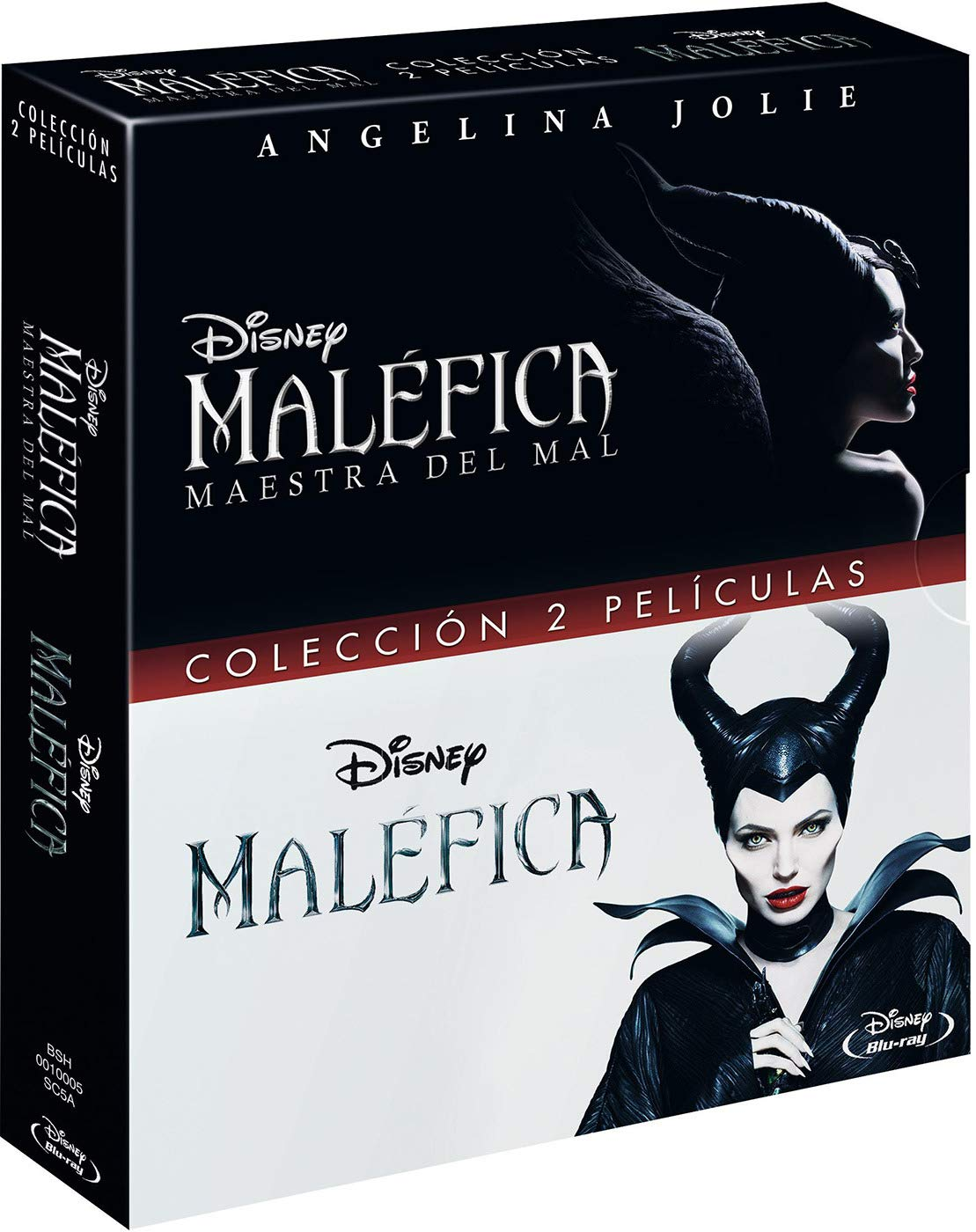 Pack BD Maléfica Maestra del Mal + Malefica [Blu-ray]: Amazon.es: Angelina Jolie, Michelle Pfeiffer,, Robert Stromberg, Angelina Jolie, Michelle Pfeiffer,, Robert Stromberg: Cine y Series TV
