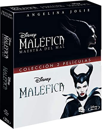 Pack BD Maléfica Maestra del Mal + Malefica [Blu-ray]: Amazon.es ...