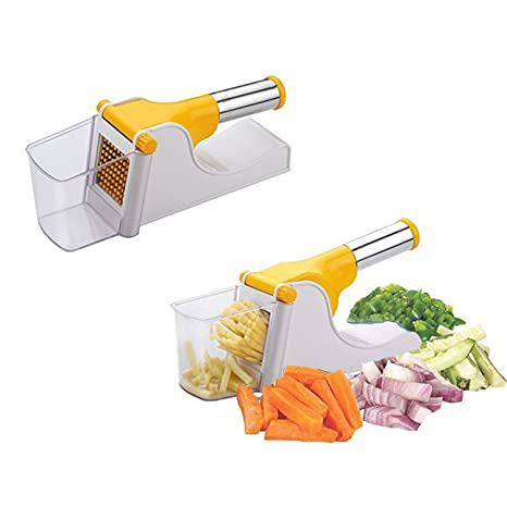 19f9b43813d Buy RapidLive Potato Chipser French Fries Maker Finger Chips Cutter Potato  Slicer with Container Made from Virgin Plastic Online at Low Prices in  India ...