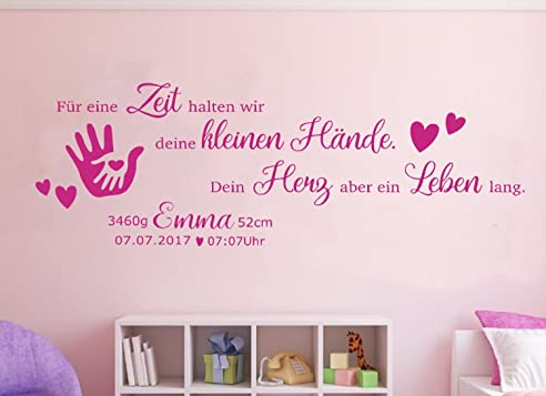 wandtattoo m dchen baby reuniecollegenoetsele. Black Bedroom Furniture Sets. Home Design Ideas