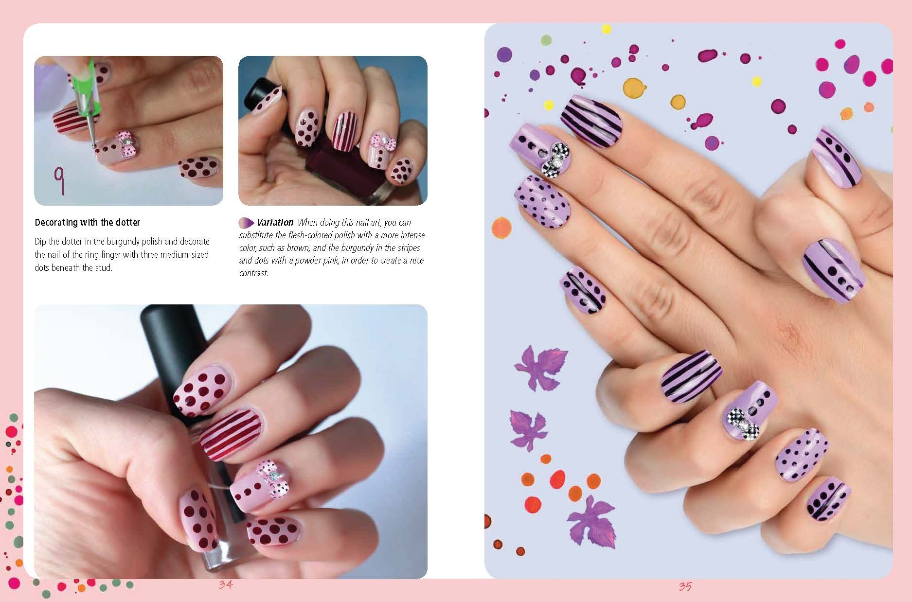 Nail Art Kit: The Easy Way to Creative Nails: LaLilliMakeup, Stefano ...