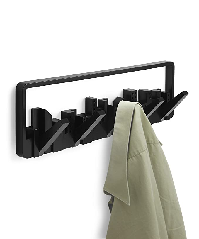 Umbra Skyline Wall-Mount Multi-Hook, Black