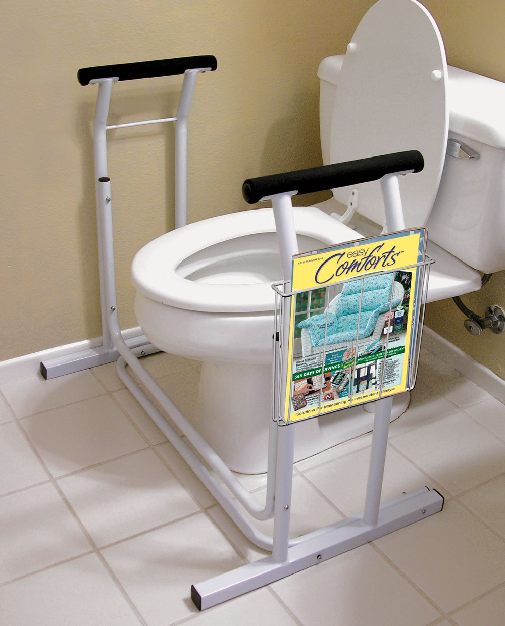 Fox Valley Traders Deluxe Toilet Safety Support XL by Fox Valley Traders