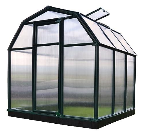 Rion Kunststoff Gewachshaus Eco33 197 X 197 X 193 Dachfenster