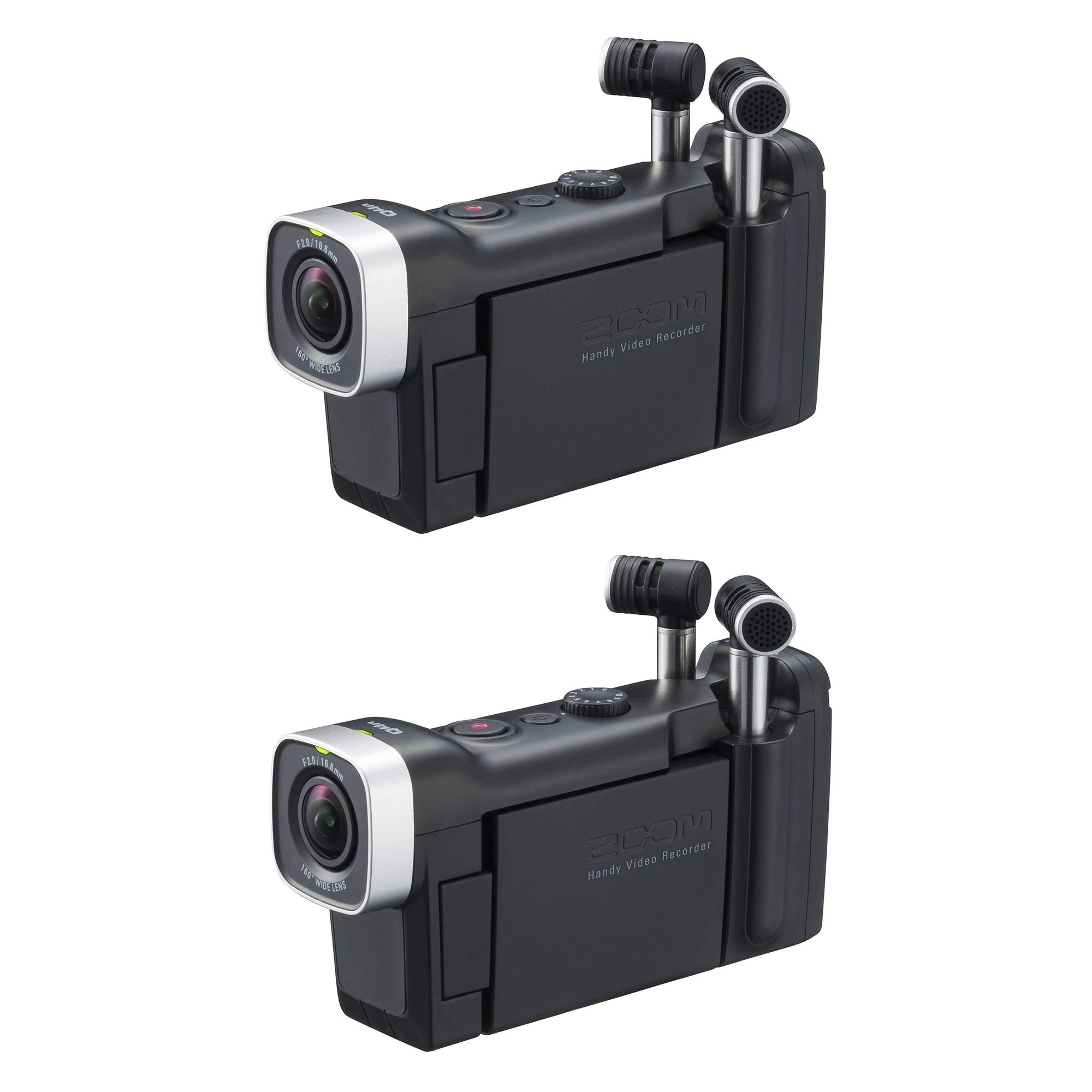 Zoom Q4n Studio Quality Video Audio Recorder 3M HD Camera for Musicians (2 Pack)