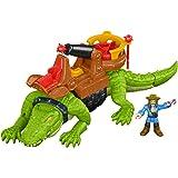 Imaginext Crocodilo Pirata Mattel