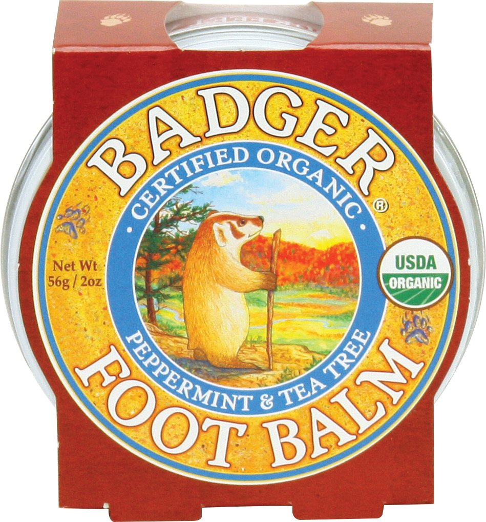 Badger Foot Balm - 2 oz Tin 634084025019