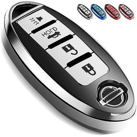 Amazon.com: Uxinuo - Funda para llave de Nissan Altima ...