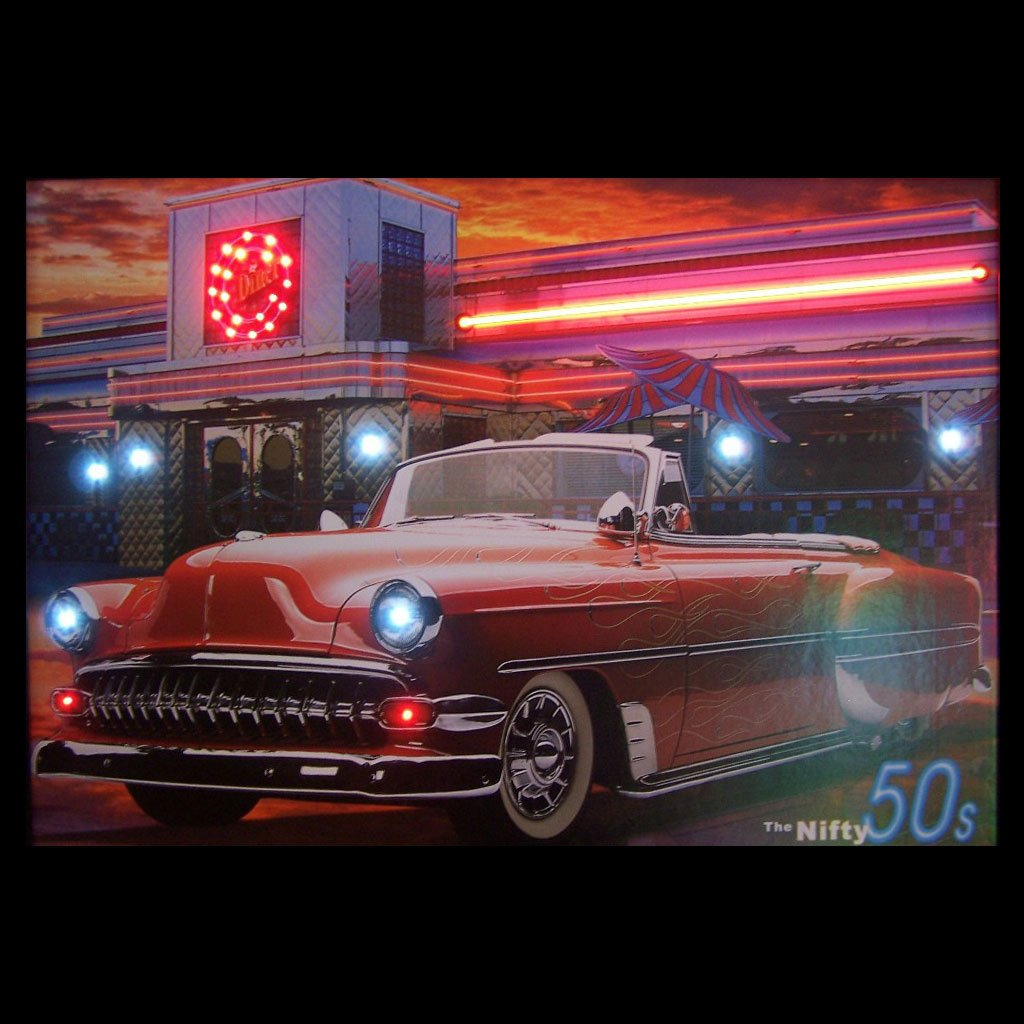 Nifty Fifties Neon