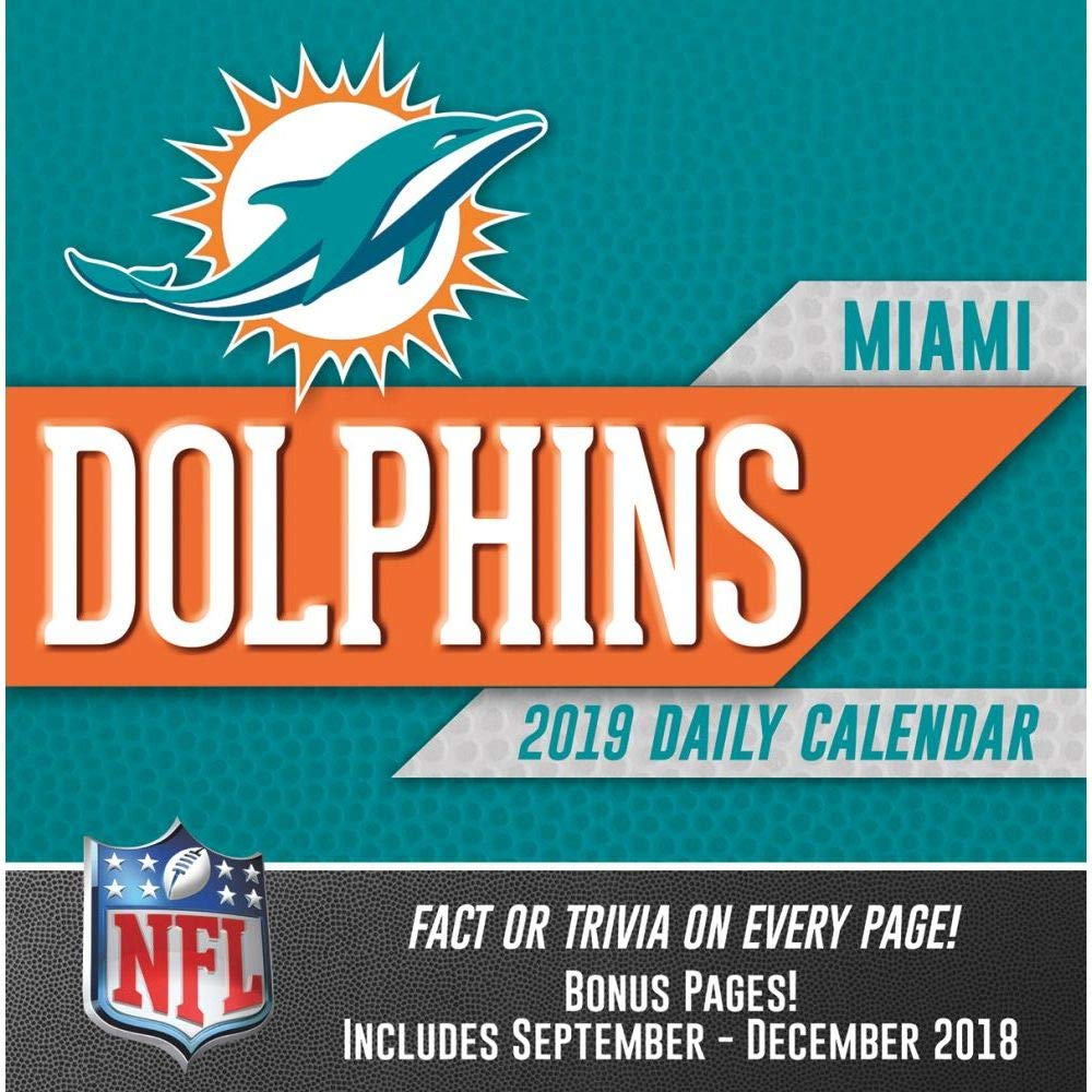 Turner Licensing Miami Dolphins 2019 Box Calendar (19998051443)