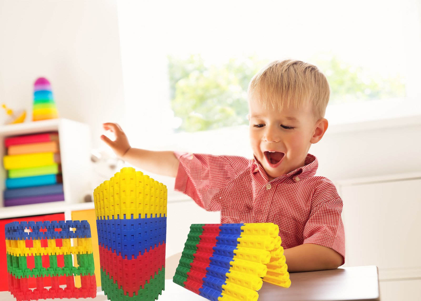 Best Learning Toys For 3 Year Olds : Building blocks pc set by ctk toys u fun and year old