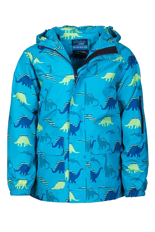 Rydale Junior Unisex Boys Girls Patterned Waterproof Raincoats Kids Country Print Coat