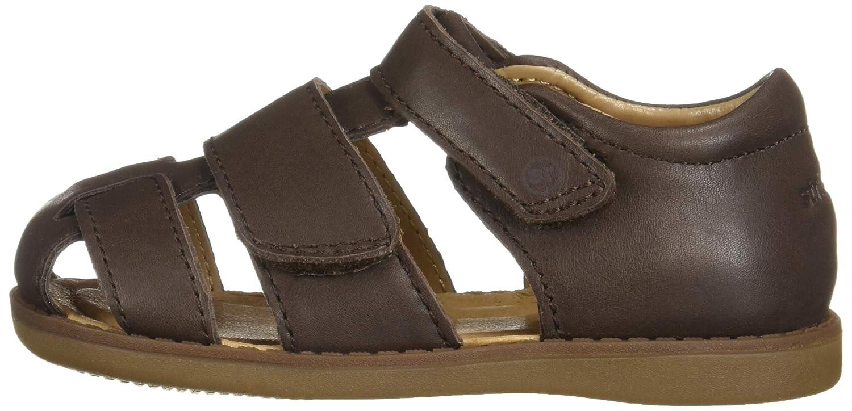 Zoolar Girls Summer Sandals Open Toe Princess Flat Shoes Toddler//Little Kid