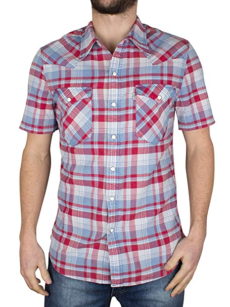 Camisa de manga corta S/S Barstow Western Shirt 0041 Levis S ...