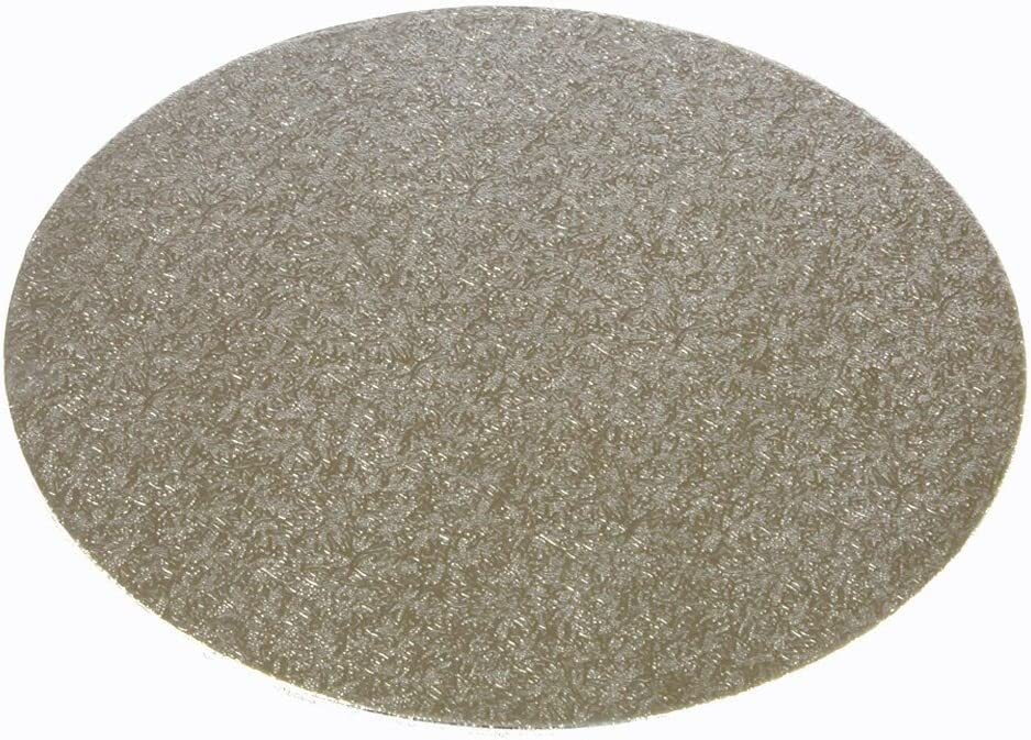 7 Silver Round Cake Board 3mm Thick