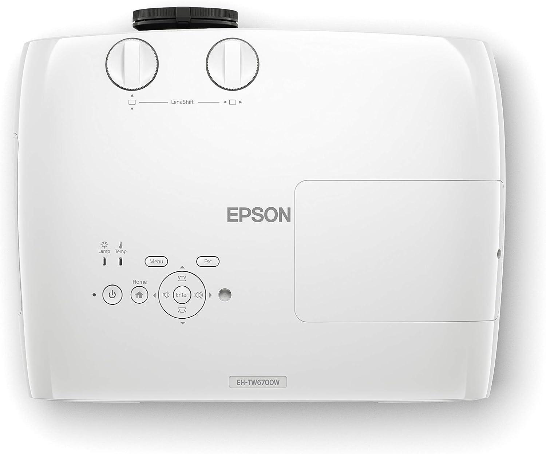 Epson EH-TW6700W Video - Proyector (3000 lúmenes ANSI, 3LCD, UWHD ...