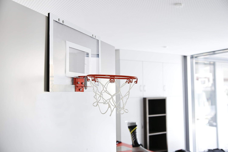 Spalding NBA (56-100Cn) Minicanasta con Pegatinas, Unisex Adulto ...