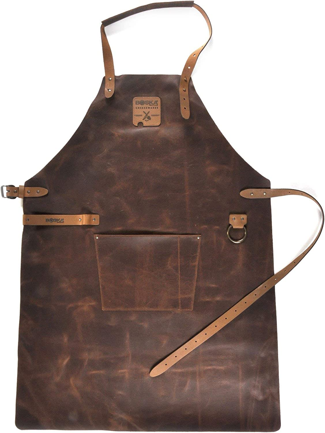 BOSKA 955050 Mr Smith Kitchen Apron, One Size Fits Most, Brown