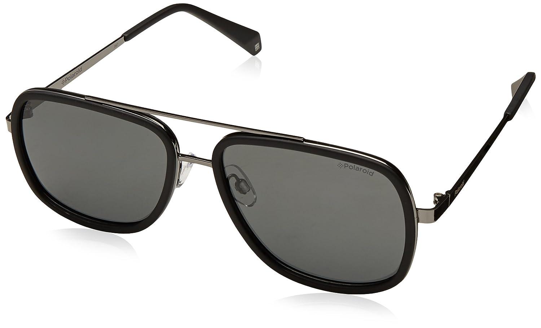 Polaroid Damen Sonnenbrille Pld 4057/S M9 2O5, Schwarz (Black/Grey Grey), 60