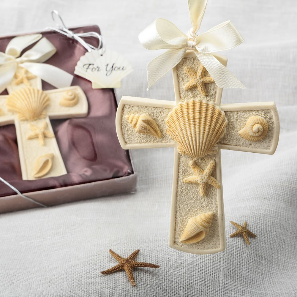 144 Sea Themed Cross Ornaments by Fashioncraft