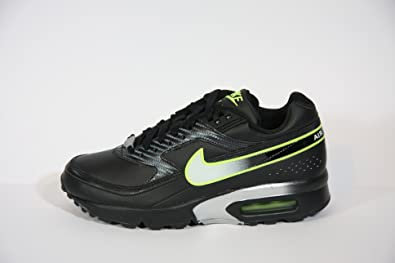 sale retailer 51a2f a92ad Nike Air Max Classic BW Leder Sneaker schwarz silber neon, Größe 36.5