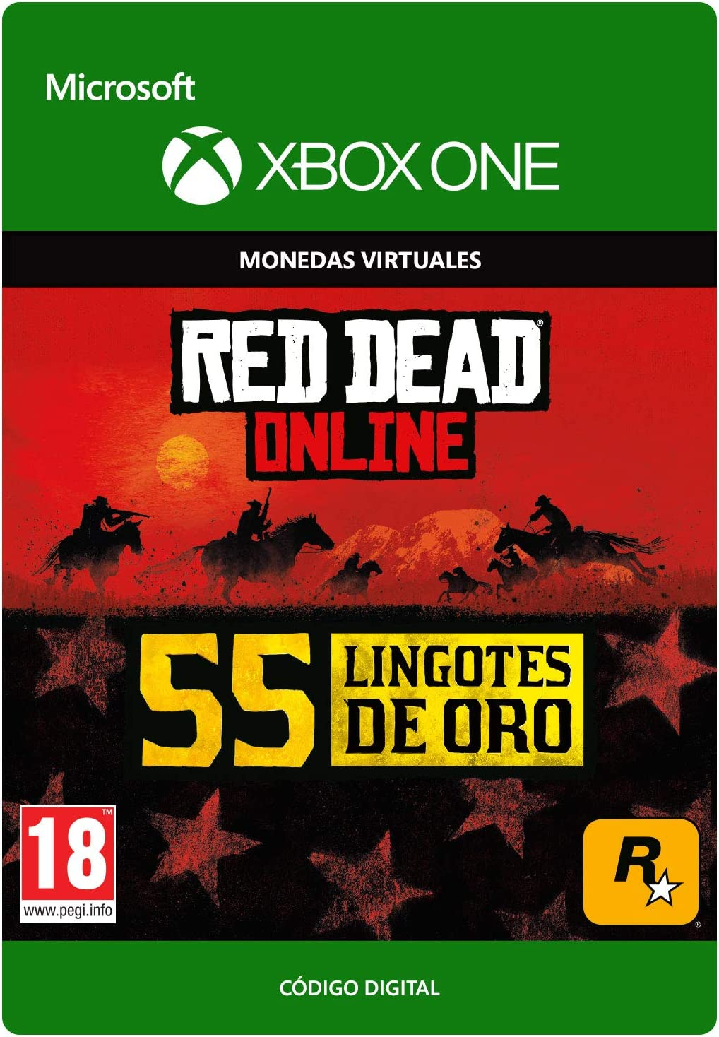 Red Dead Redemption 2: 150 Gold Bars (Xbox One): Amazon.es: Videojuegos