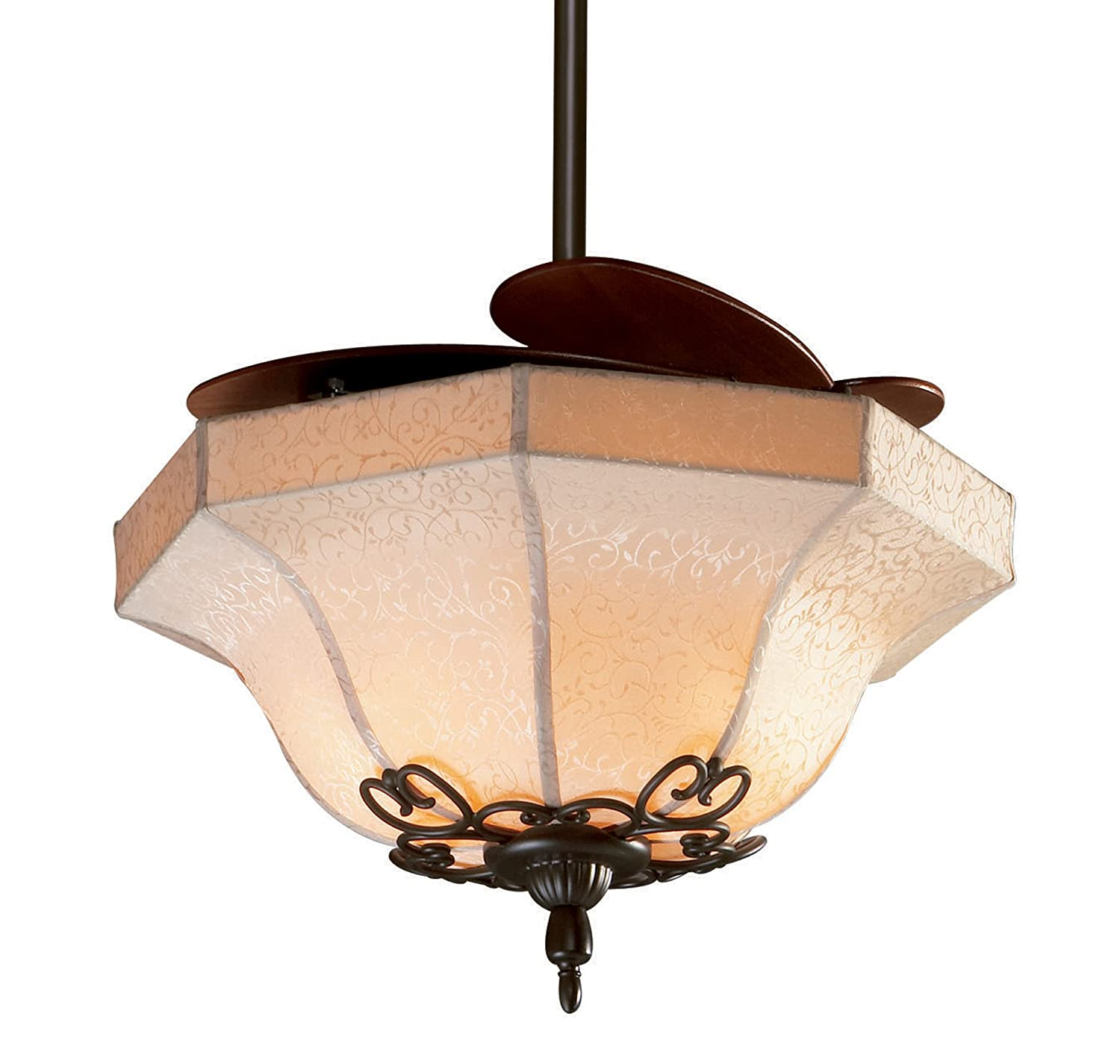 lighting light retractable fan inch amazon westinghouse kit aged fans outdoor ceiling indoor com walnut b brentford