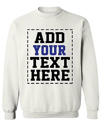 DESIGN YOUR OWN SWEATSHIRT , Cool Custom Sweatshirts for Men \u0026 Women , Cute  Personalized Sweatshirt