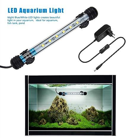 FTALGS lámpara LED de luz bajo el Agua Iluminación de Aufsatz Acuario Tanque Protectora Resistente al