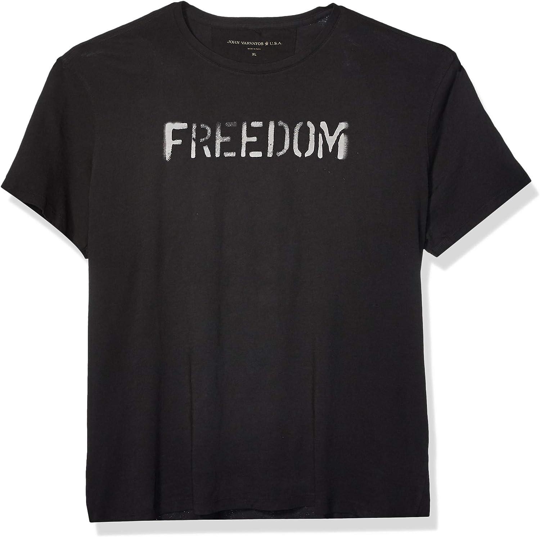 John Varvatos Star USA Men's Freedom Graphic Tee
