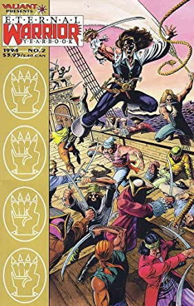 Amazon Eternal Warrior Yearbook 2 VF NM Valiant Comic Book Entertainment Collectibles