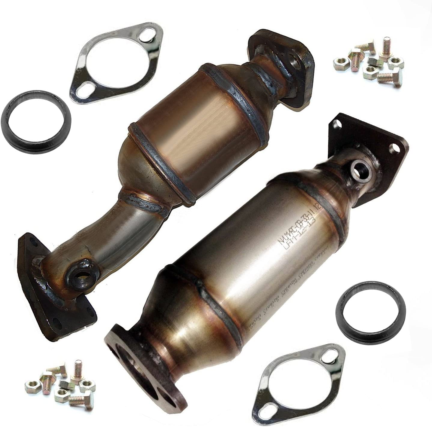 2005-2010 Fit NISSAN Frontier Front Catalytic Converter Right Side