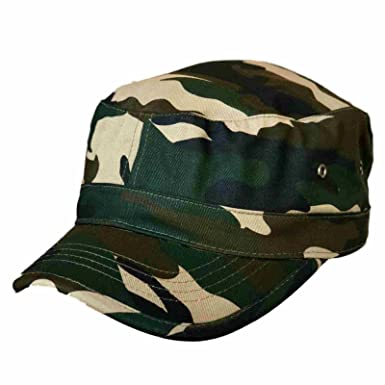 Trendy Military Fitted Cap - Forest Camo at Amazon Men s Clothing store  2fd8b0966e