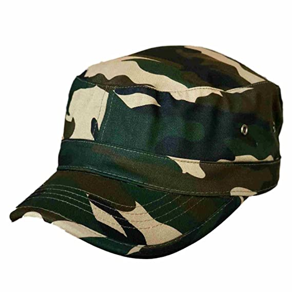 008f3b3a86a Trendy Military Fitted Cap - Forest Camo at Amazon Men s Clothing store
