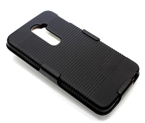 Amazon.com: Para LG G2 (T-Mobile) – Carcasa rígida de goma ...