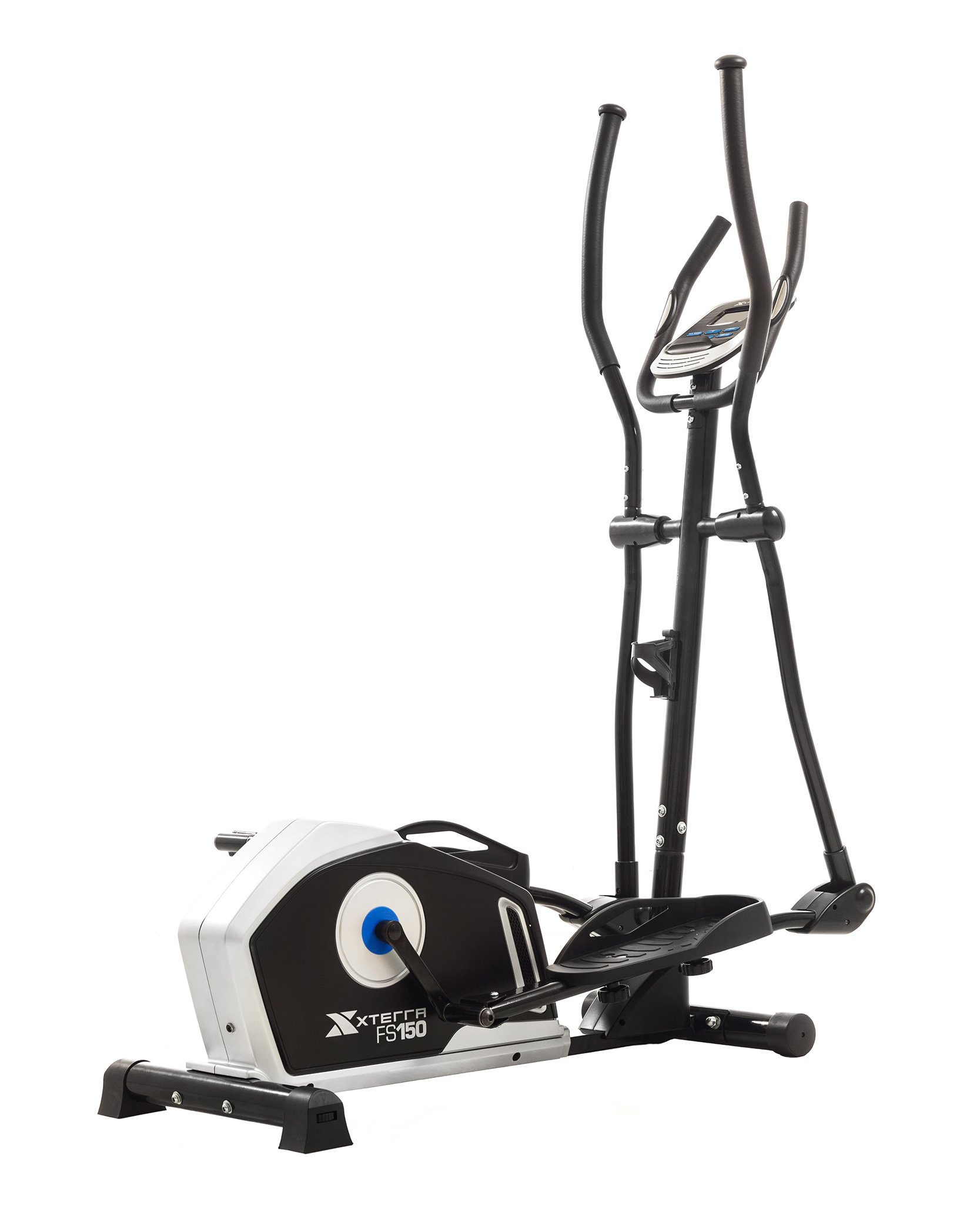 XTERRA Fitness FS150 Elliptical Trainer Equipment, 50'' x 23'' 64.2'', Black