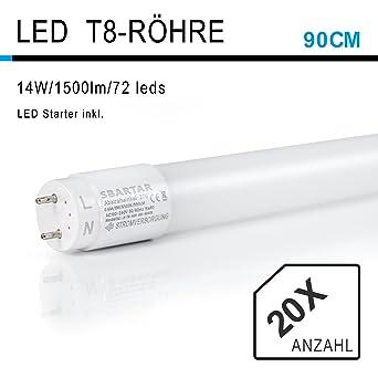 Einzigartig 20 Stück SBARTAR 90CM LED Leuchtstoffröhre, T8 G13 Tube  QQ74